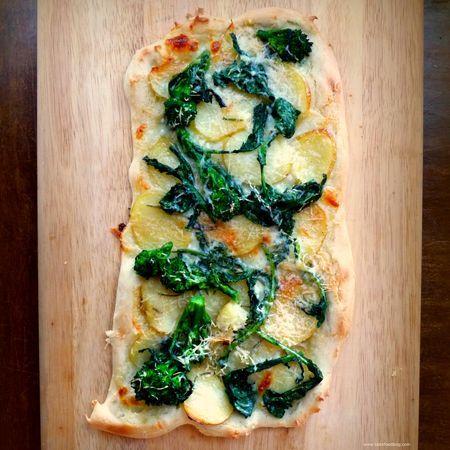 Broccoli Rabe, Potato and Rosemary Pizza | Pizza's ~ I'll have a Slic...