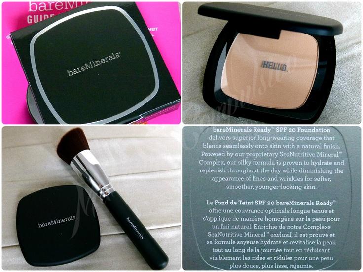 Make-up compulsivo: BareMinerals fondotinta compatto della linea Ready: review