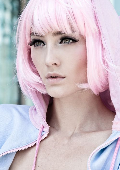 Light baby pink hair ♥ | pretty in pink | Pinterest