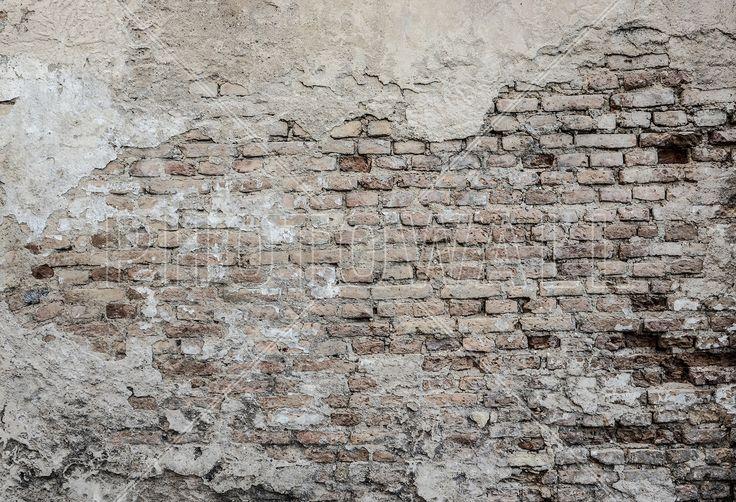 Old Brickwall - Fotobehang