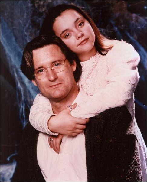 thatgeeklover: andiezone: Christina Ricci and Bill Pullman, 'Casper' promotional photoshoot I wanted Bill Pullman to be my dad. If your dad was the Bill Pullman in Torchwood: Miracle day you wouldn't. Also, he was in Spaceballs.