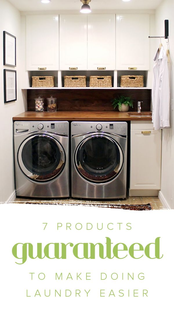 Spend less time in the laundry room with these product ideas that will make washing clothes feel like less of a chore.