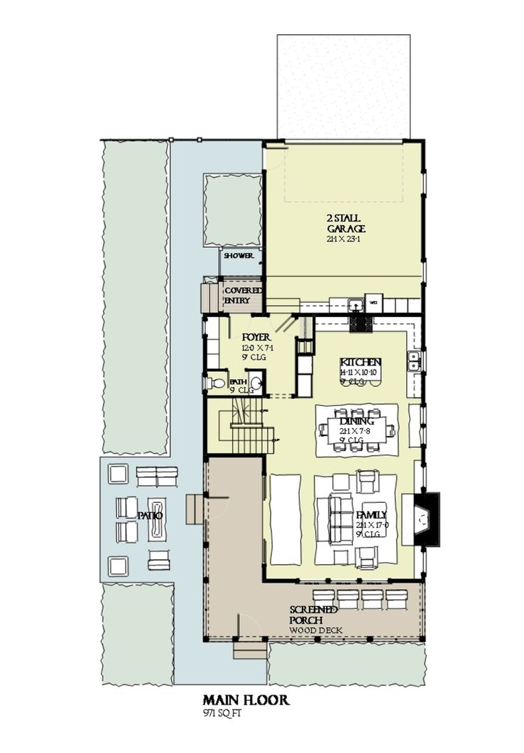 This Beach Design Floor Plan Is 2769 Sq Ft And Has 4 Bedrooms And Has  Bathrooms.