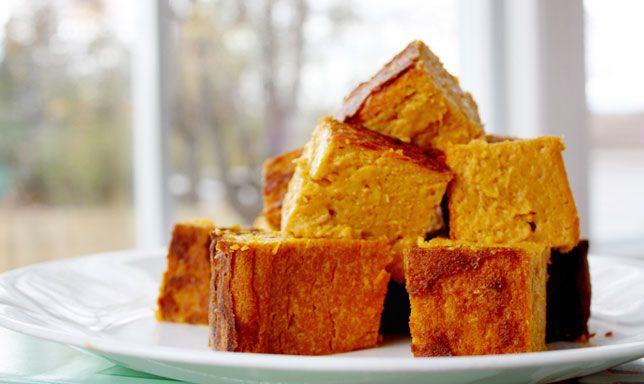 ¿Cómo hacer una torta de auyama? Receta de torta de auyama casera
