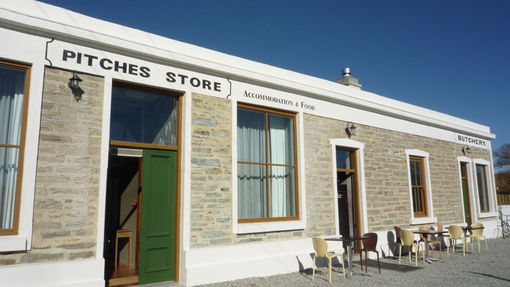 Pitches Store, Ophir.  A short detour from the Rail Trail to Ophir, well worth a visit. Pitches Store offer accommodation and a restaurant. http://www.centralotagonz.com/ophir