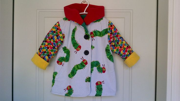 Child's The Very Hungry Caterpillar Car Coat 18 Months C82/15 by zoya49 on Etsy