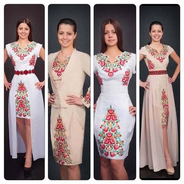 Ukrainian style - ukrainian beauty.