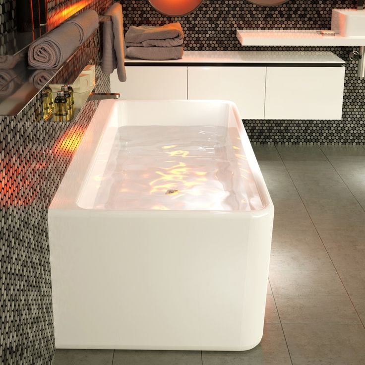 Cube 1800 Back to Wall Freestanding Bath http://www.caroma.com.au/bathrooms/baths/cube/cube-1800-back-to-wall-freestanding-bath