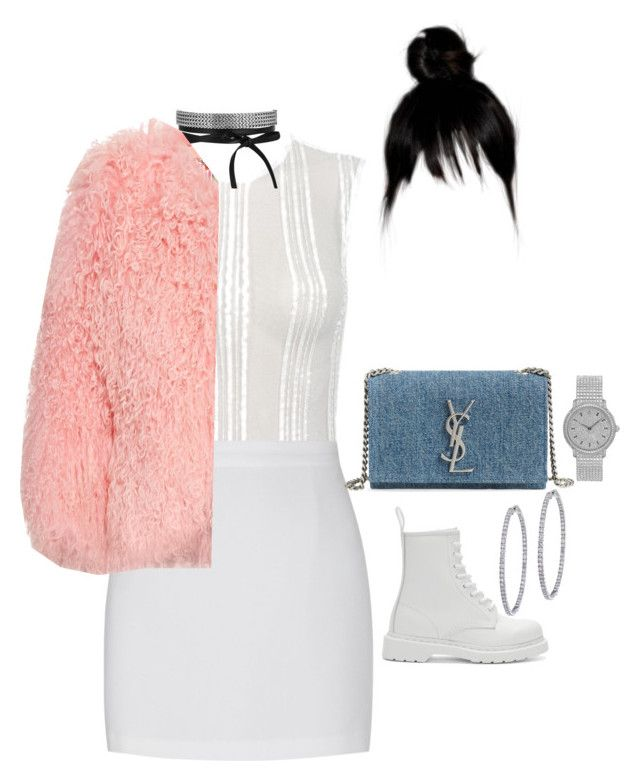 """At Drakes album release party"" by nytown ❤ liked on Polyvore featuring Dr. Martens, BillyTheTree, Charlotte Simone, Yves Saint Laurent and Audemars Piguet"