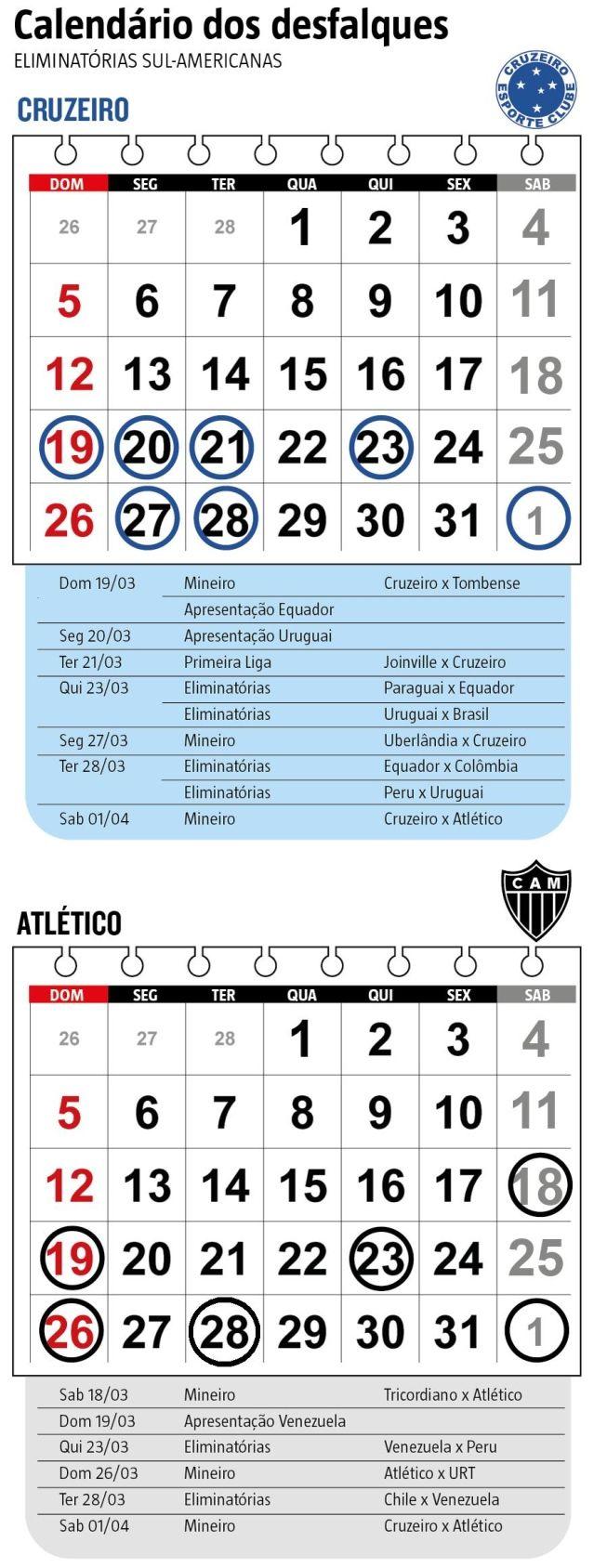 hhttp://hojeemdia.com.br/esportes/convoca%C3%A7%C3%B5es-desfalcam-cruzeiro-e-atl%C3%A9tico-%C3%A0s-v%C3%A9speras-do-cl%C3%A1ssico-pelo-campeonato-mineiro-1.451701  Convocações desfalcam Cruzeiro e Atlético às vésperas do clássico pelo Campeonato Mineiro