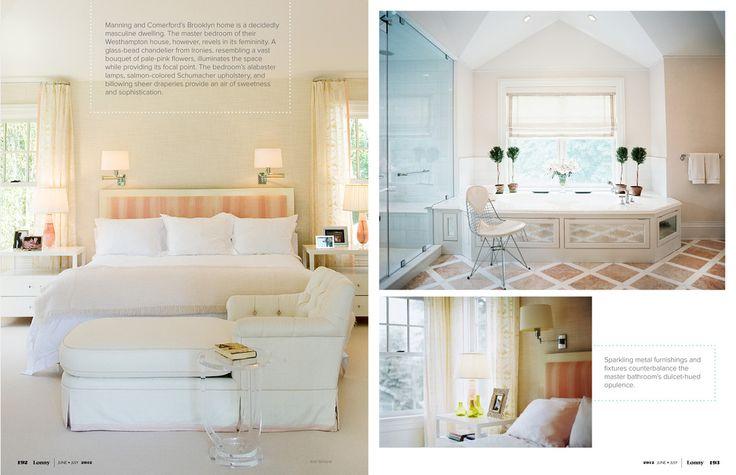 June July 2012 Stylish Sleep Pinterest Feminine Master Bedrooms And Lucite