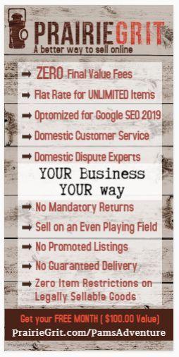 #Prairegrit a simpler, easy way to buy & sell! #NoFinalValueFees #UnlimitedListi… – FOMO Resellers Hustle Tribe | Store Accounts | Ebay PrairieGrit Amazon Etsy Poshmark