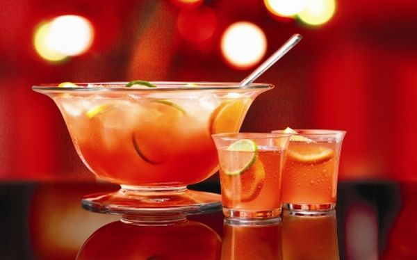 Цитрусовый безалкогольный пунш