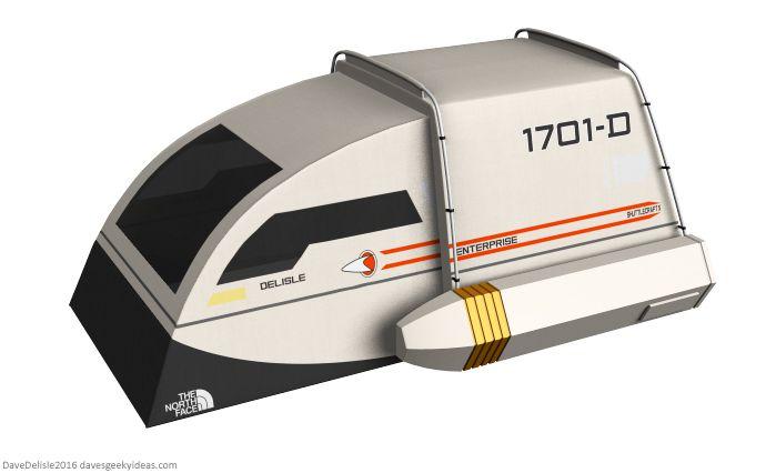 Star Trek Tent by Dave Delisle