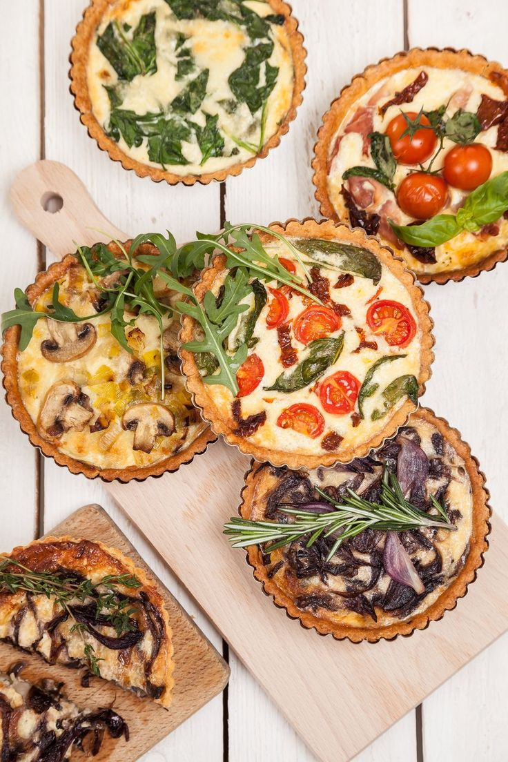 Nominal Quiche • 260 g flour Nomix • 40g corn or buckwheat flour • 120 g butter • 1 small egg • 90 ml milk • 6 g of baking powder •  pinch of salt. A dough we create from dry raw materials and mix with other ingredients . Dough let it stand for 20 min, after bake at 180 °C for 15 min. For filling can select different combinations, all eventually pour over cream with eggs and bake for a further 20 minutes.