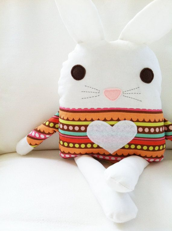 Bunny Sewing Pattern Bunny Doll Softie Toy PDF by GandGPatterns