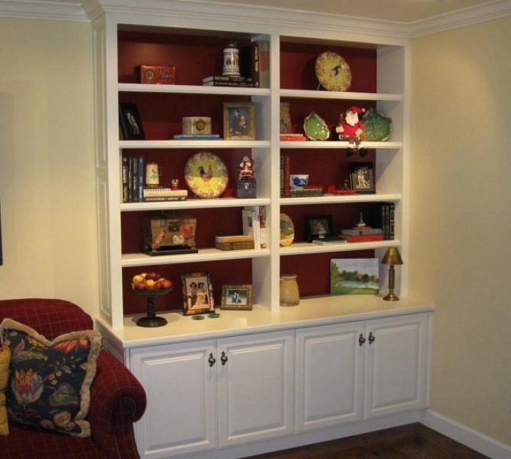 17 best images about built ins on pinterest ikea billy for Do it yourself built in bookshelves
