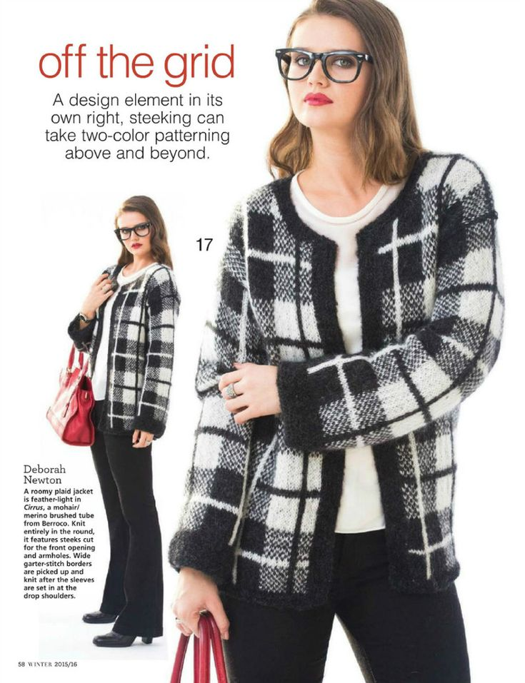Vogue Knitting Winter 2016 : Images about knitted tartan on pinterest wool