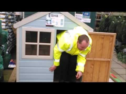 A typical day with Autistic Mike -  Shopping for a shed