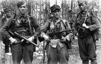 Finnish Troops during WW2.