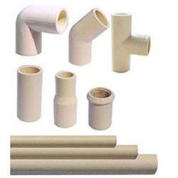 "RAKSHA CPVC Pipes & fittings are for potable water applications. Pipes are manufactured in Copper Tube size [CTS] from ½ "" to 2"" with two different standard dimensional ratios SDR-11 and SDR-13.5. http://www.shandgroup.com/flexibile_corrugated_pipe.php"
