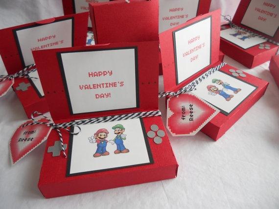 Mario Nintendo DS favor box