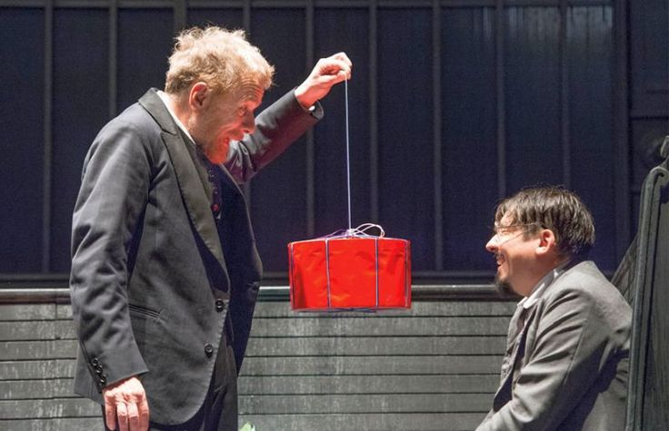 L'uomo dal fiore in bocca …e non solo. 2016 - Gabriele Lavia, Michele Demaria. Fondazione Teatro della Toscana.