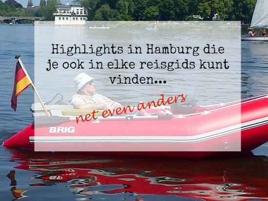 Vandaag gaan we dingen doen in Hamburg die je in elke reisgids kunt vinden. Gaaap? Nee! Want we doen het nét even anders.