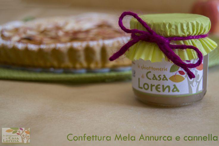 Confettura Mela Annurca e Cannella Sapore Dolce e leggermente acidulo. Provenienza Frutto La Mela Annurca IGP è un frutto tipicamente campano ed è l'unica mela dell'Italia Meridionale. Abbinamento Gastronomico Consigliata da spalmare a colazione su fette biscottate o pane integrale. Originale nella preparazione di crostate e strudel.