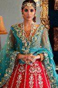 Mehndi dress by Maria B. Pakistani wedding dress 2017