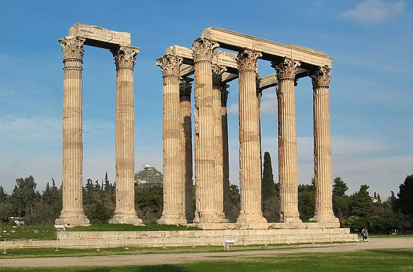 Świątynia Zeusa Olimpijskiego w Atenach – Wikipedia, wolna encyklopedia