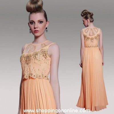 Long Prom Dress - Jewel Embroidery $183.20 (was $229) Click here to see more details http://shoppingononline.com/prom-dresses/long-prom-dress-jewel-embroidery.html  #LongPromDress #LongDress #Fashion #Dress #PromDress