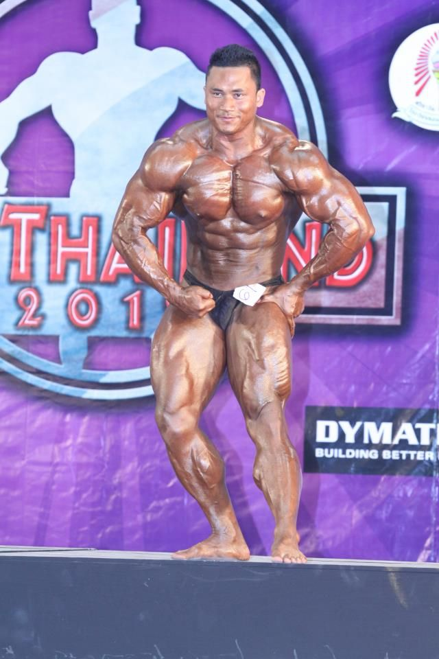 Panupong Prateep (Thai Bodybuilder) | Bodybuilder / Panupong Prateep