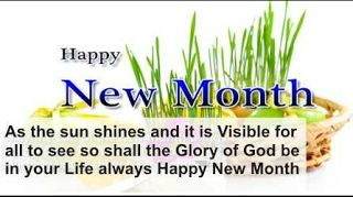 Happy new month Wishes Messages & Quotes