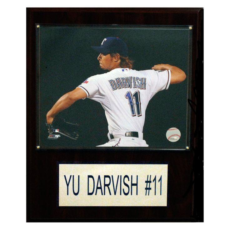 MLB 12 x 15 in. Yu Darvish Texas Rangers Player Plaque - 1215DARVISH