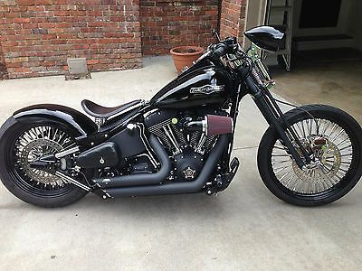 "softail bobber with 21"" front wheel 