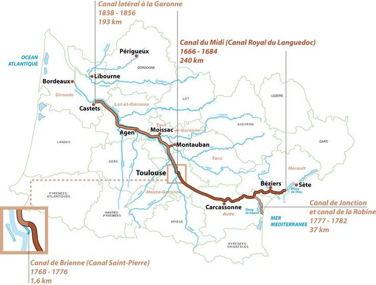 Carte du canal