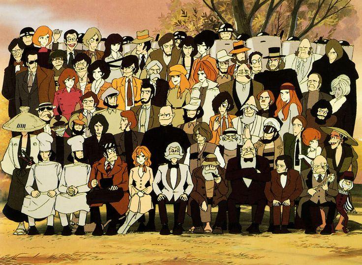Lupin the 3rd Anime, Studio ghibli art, Ghibli art