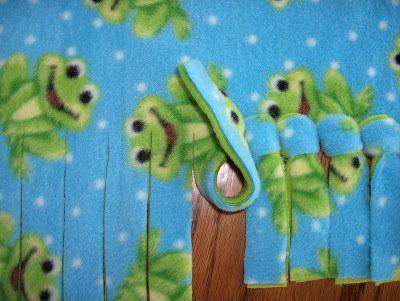 DIY no sew fleece blankets: The Knot, Ties Fleece, Ties Blankets, Baby Blankets, Fleece Blankets, No Sewing Blankets, No Sewing Fleece, Chelsea Mornings, Ties Knot