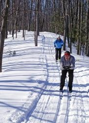 Wasaga Beach Provincial Park is a great place for cross country skiing and snowshoeing!