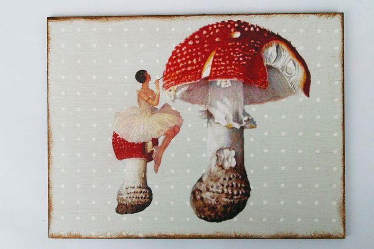 Kunstdruck auf Holz von Atelier Art-istique auf DaWanda.com