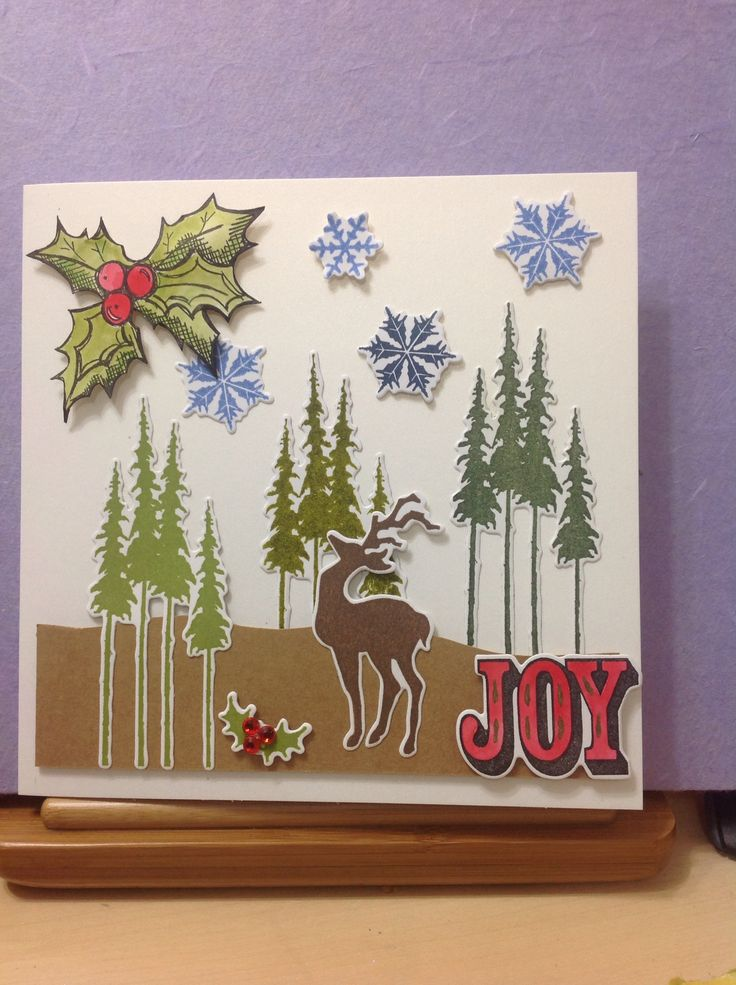 Christmas card for my Bezzie