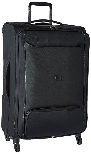 Delsey Luggage Chatillon 25 Inch Expandable Trolley Black