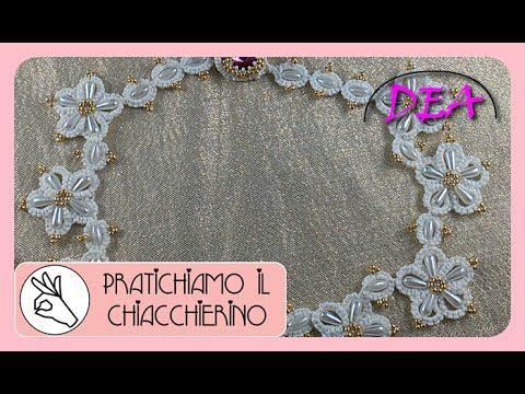 Chiacchierino Ago - Cerchi, Split Ring di seguito a forma di Margherita - - YouTube