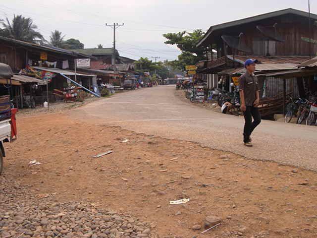 Local street #Laos