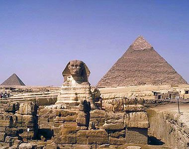 Egypt- My bucket list includes seeing the pyramids.