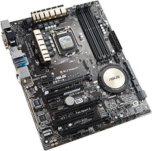 BUY NOW  ASUS Z97-A ATX DDR3 2600 LGA 1150 Motherboards Z97-A    LGA1150, ATX, 1 x Intel LAN, DP/HDMI/DVI/VGA, SLI/CFX   More Details    Special Price :...