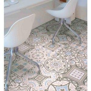 Morroco Safi 04 - Cushioned Sheet Vinyl Flooring Moroccan Style loose laid, laundry room?