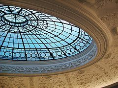 Skylight (Michael MacLennan) Tags: glass square scotland glasgow victorian skylight goma stained dome exchange plasterwork galleryofmodernart rayal