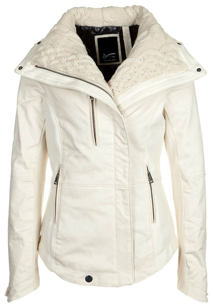 JOCKO - Winter jacket - white probably not a good idea in white but lovely